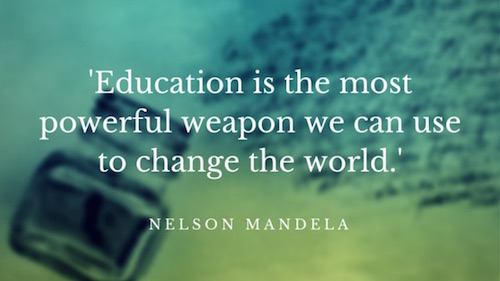 Education Quotes: Nelson Mandela on Education