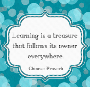 Quotes about Education: Chinese Proverb